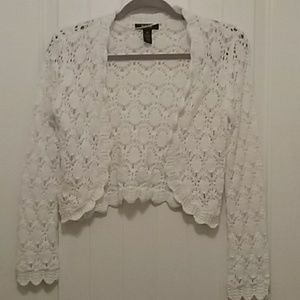 Style & Company crocheted sweater